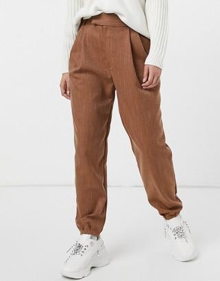 BB Dakota twill call trouser in dark camel