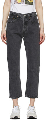 Levi's Black 501 Jeans