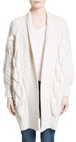 Burberry Women's Camrosbrook Wool & Cashmere Open Cardigan