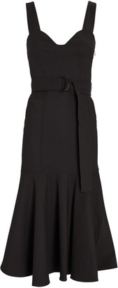 A.L.C. Sabrina Belted Midi Dress