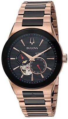 Bulova Latin Grammy - 98A236 (Black) Watches