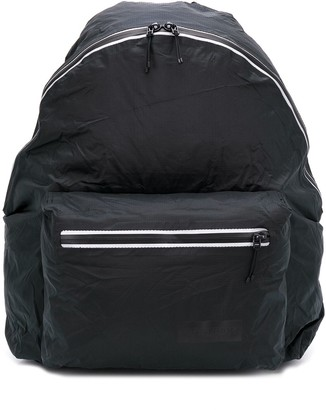 Eastpak crinkled effect top handle backpack