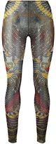 DSQUARED2 tattoo leggings - women - Polyamide/Spandex/Elastane/Cotton - M
