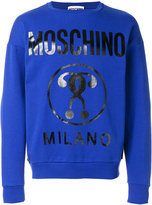 Moschino branded sweatshirt - men - Cotton - 46