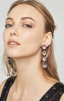 BCBGMAXAZRIA Drop Chain Stone Earring