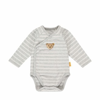Steiff Baby Boys' Mit Suer teddybarapplikation Body Long Sleeve