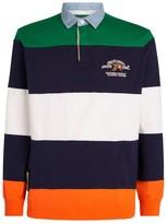Ralph Lauren Striped Logo Rugby Shirt