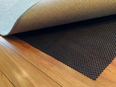 Premium Non Slip Rug Pad. Stop Slipping with this Large 6x9 Mat made from a New Foam giving Superior Grip to Reduce Rug Skidding on Hard Floors. Provides Nonslip & Padding which Felt Pads Don't