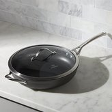 "Crate & Barrel Calphalon Contemporary TM Non-Stick 13"" Deep Skillet with Lid"