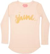 Munster Tots Girls Shine Ls Tee Pink