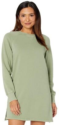 Lucky Brand Sweathshirt Dress (Looseleaf) Women's Dress