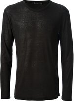 Alexander Wang long sleeve t-shirt - men - Silk/Rayon - XS