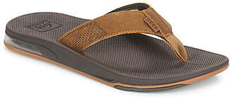Reef LEATHER FANNING LOW men's Flip flops / Sandals (Shoes) in Brown