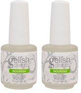 Harmony 2 Gelish Nourish Nail Cuticle Hydrating Natural Oil Treatment .5oz - Bottle