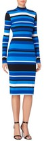 Catherine Malandrino Women's Kristiana Stripe Body-Con Dress