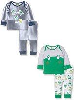 Mothercare Boy's Frog - 2 Pack Pyjama Sets