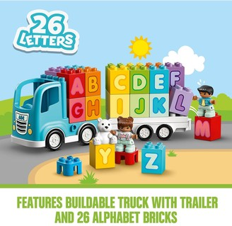 Lego Duplo 10915 Alphabet Truck Letter Bricks for Toddlers