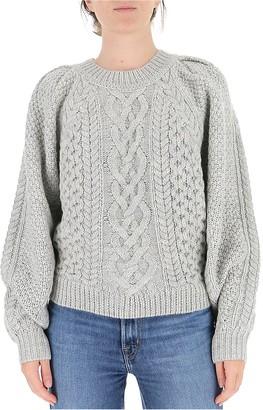 Etoile Isabel Marant Cable Knit Crewneck Jumper