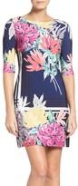 Eliza J Women's Print Jersey Shift Dress