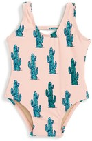 Infant Girl's Shade Critters Can'T Touch This One-Piece Swimsuit
