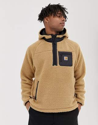 Carhartt Wip WIP Prentis pullover fleece in dusty brown