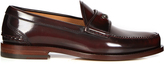 Gucci Jacob leather penny loafers