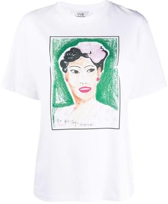 Victoria Victoria Beckham Billie print T-shirt