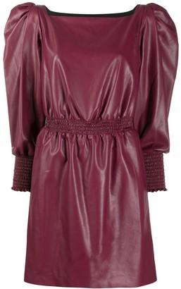 Philosophy di Lorenzo Serafini Puff Sleeve Dress