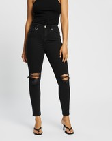 Thumbnail for your product : Neuw Women's Black High-Waisted - Marilyn Skinny Jeans - Size 29 at The Iconic