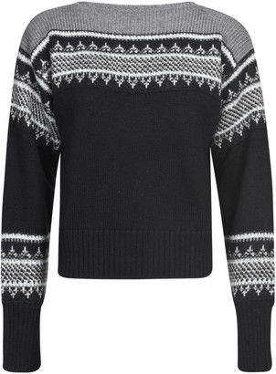 Philosophy di Lorenzo Serafini Round Neck Ribbed Jumper