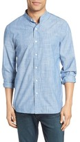 Jack Spade Men's Pinstripe Chambray Shirt