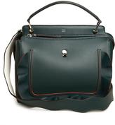Fendi Dotcom wave-embellished leather bag