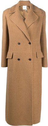 Agnona Double-Breasted Long Coat