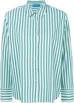 MiH Jeans striped shirt - women - Cotton - XS