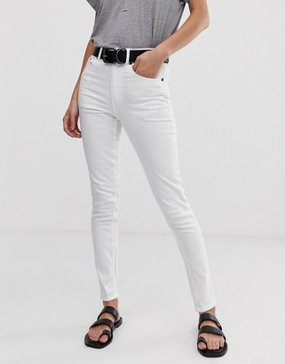 Cheap Monday High Skin skinny jeans-White