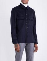 Joseph Cavan regular-fit light-felt shirt