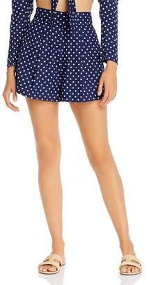 Onia WeWoreWhat x étoile Polka Dot Pleated Shorts