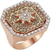 Bee Goddess Venus Star Diamond Ring