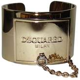 Dsquared 18K Gold Plated ID Cuff Bracelet