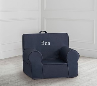 Pottery Barn Kids My First Dark Blue Twill Anywhere Chair Slipcover Only