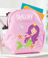 Personalized Planet Backpacks - Pink Mermaid Personalized Backpack