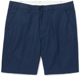 Ps By Paul Smith - Slim-fit Linen And Cotton-blend Twill Shorts