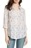 Joie Women's 'Katrine' Paisley Cotton & Silk Blouse
