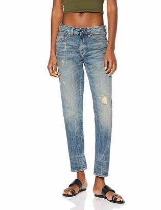 G Star Women's Midge Saddle Boyfriend Jeans