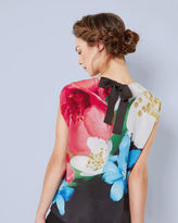 ABREE Forget Me Not silk top