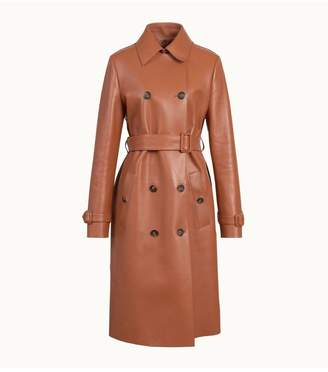 Tod's Tods Trench In Leather