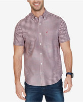 Nautica Men's Big & Tall Non-Iron Maritime Plaid Shirt