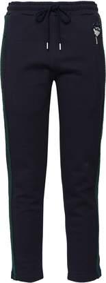 Markus Lupfer Embellished Cotton Track Pants