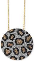 Effy Diamond Animal Pattern Pendant Necklace (1-3/4 ct. t.w.) in 14k Gold