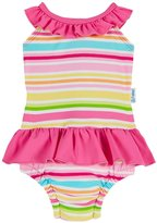 I Play Swimsuit With Swim Diaper (Baby/Toddler) - Pink - 18mo